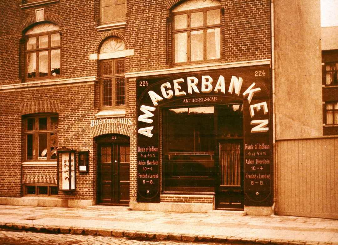 Amagerbanken på Amagerbrogade - Dines Bogø